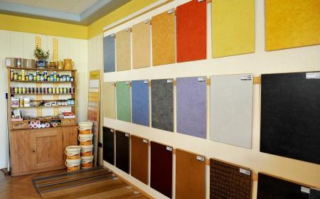 Laminat in verschiedenen Farben